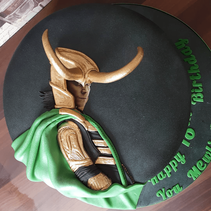 Graceful Loki Cake