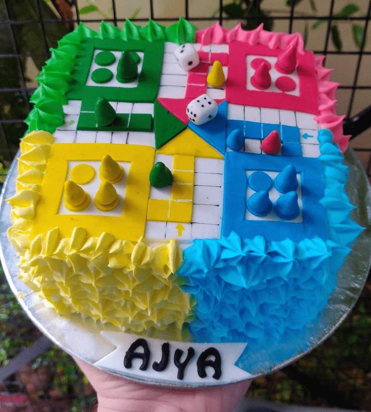 Admirable Ludo Cake Design