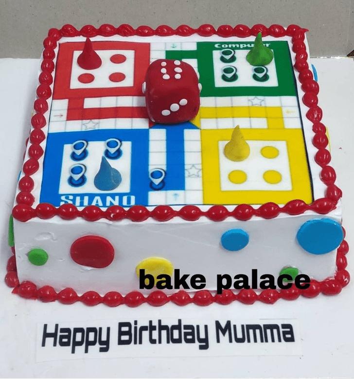 Adorable Ludo Cake