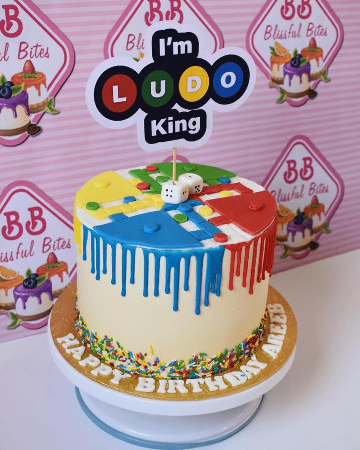 Angelic Ludo Cake