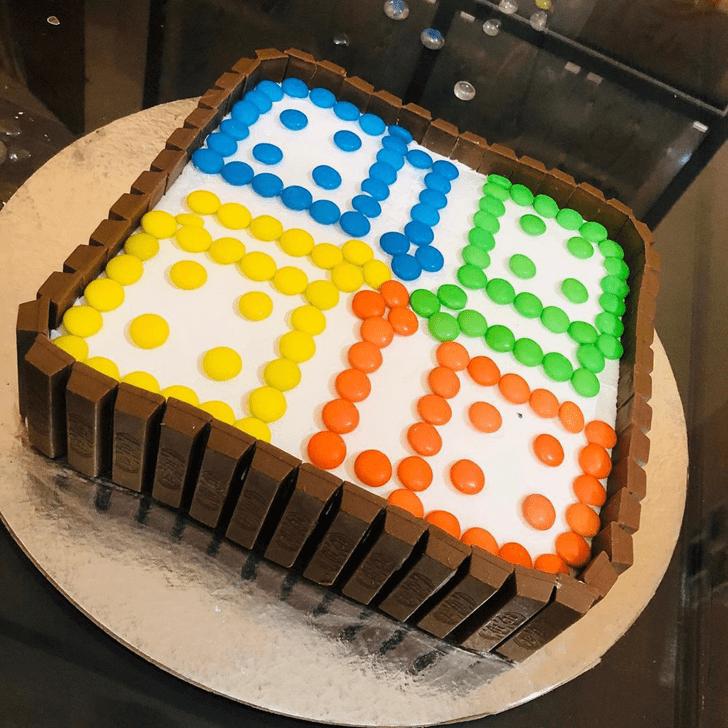 Appealing Ludo Cake