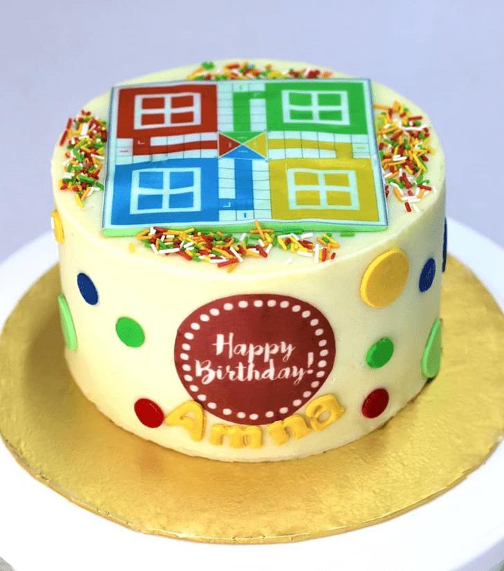 Beauteous Ludo Cake