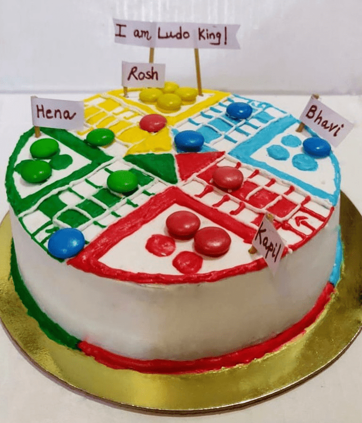 Captivating Ludo Cake