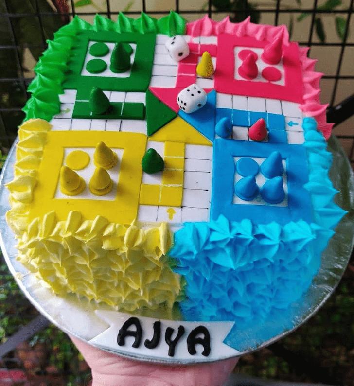 Comely Ludo Cake