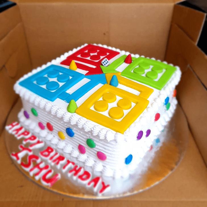Dazzling Ludo Cake