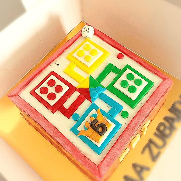 Excellent Ludo Cake