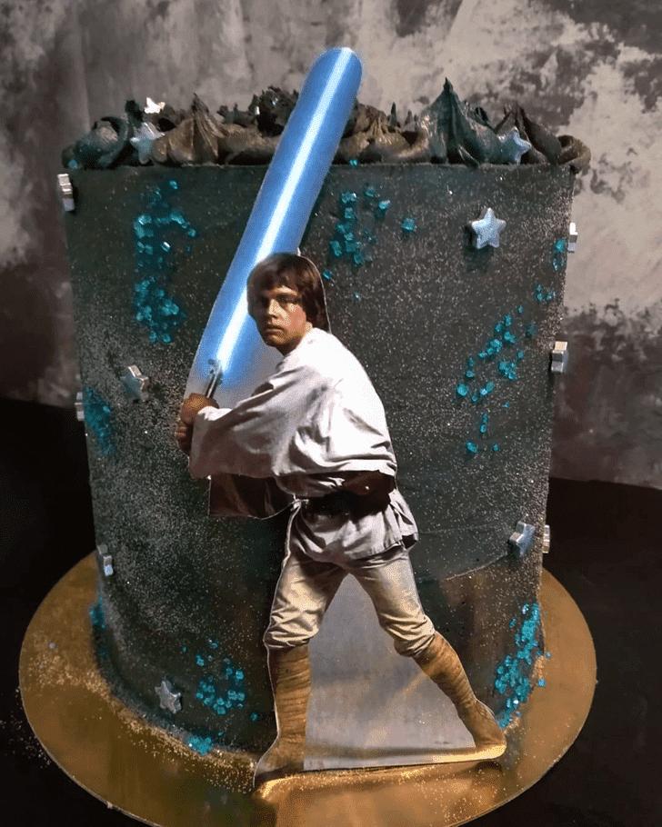 Angelic Luke Skywalker Cake