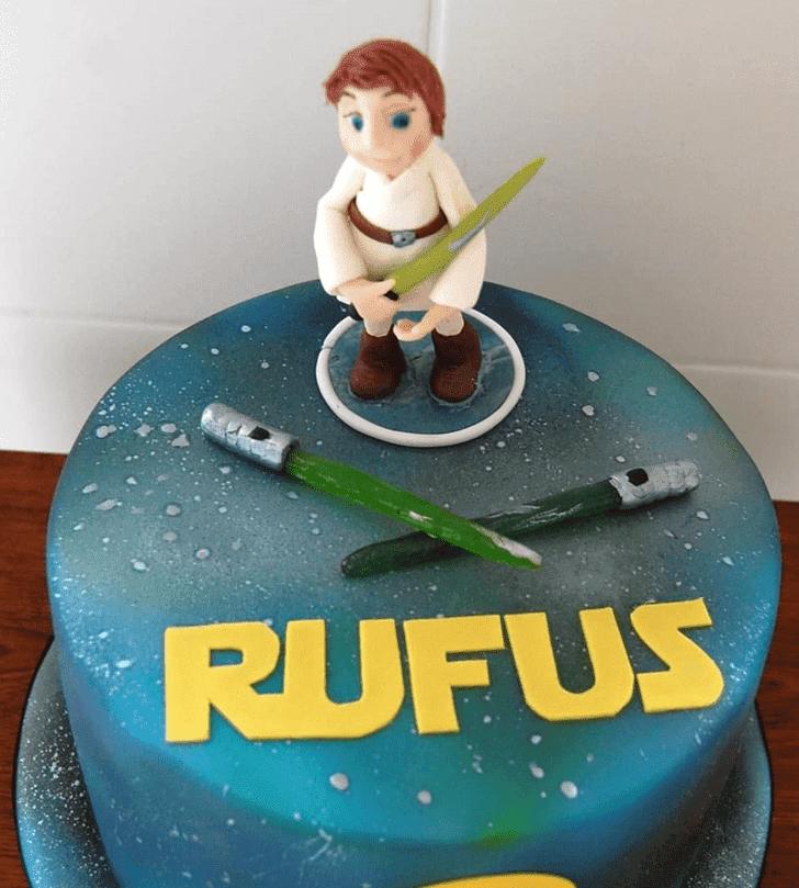 Charming Luke Skywalker Cake
