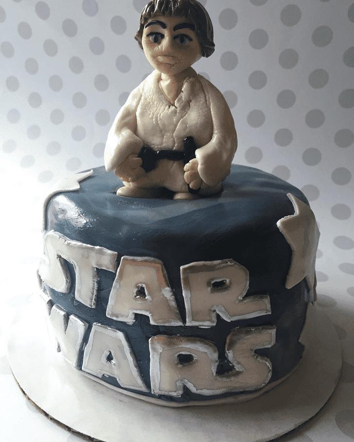 Divine Luke Skywalker Cake