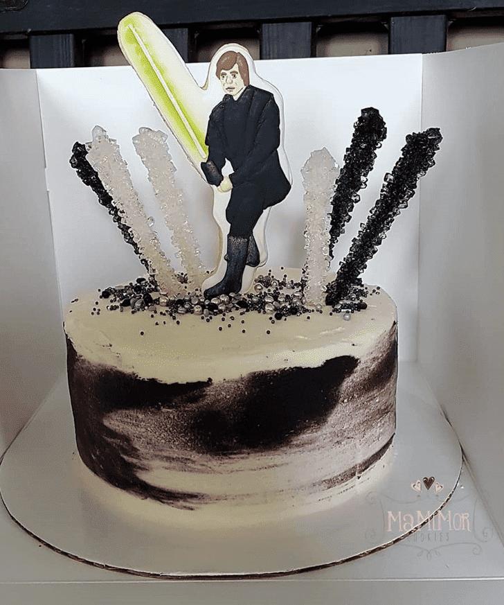 Excellent Luke Skywalker Cake