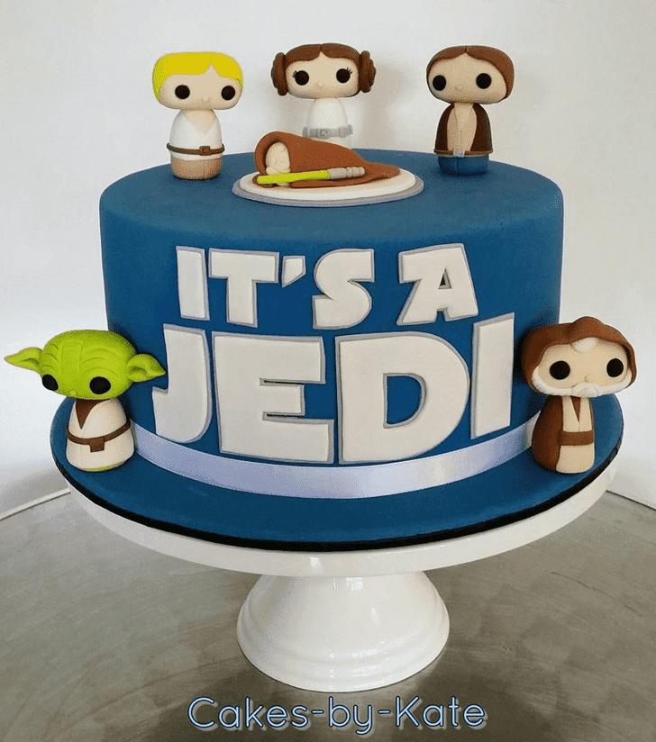 Fair Luke Skywalker Cake