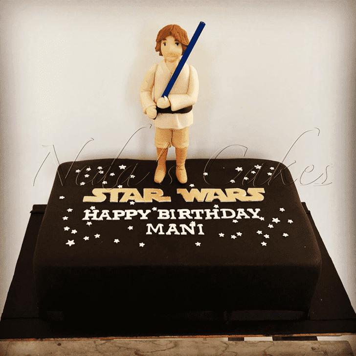 Fine Luke Skywalker Cake