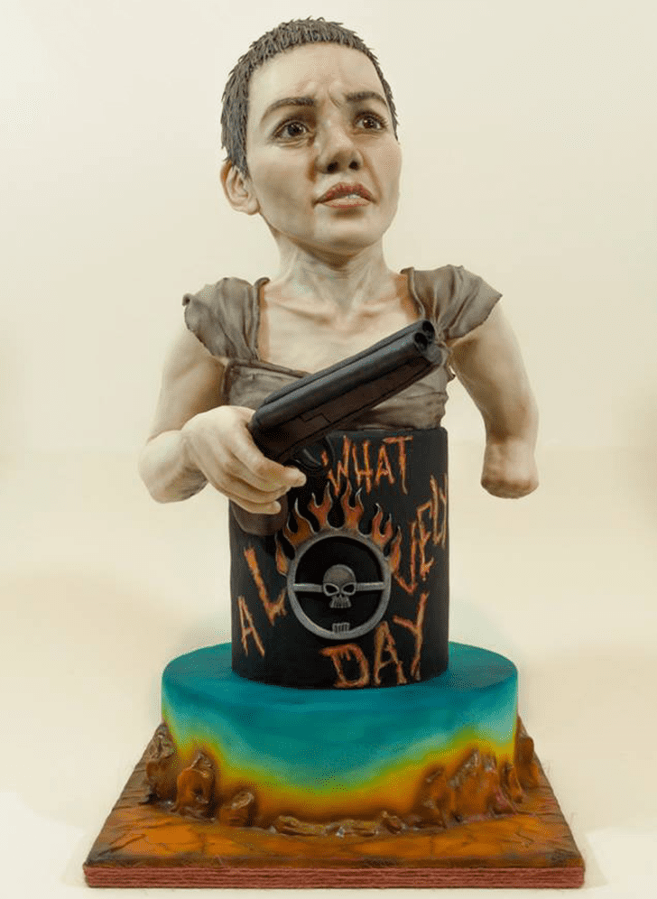 Adorable Mad Max Cake