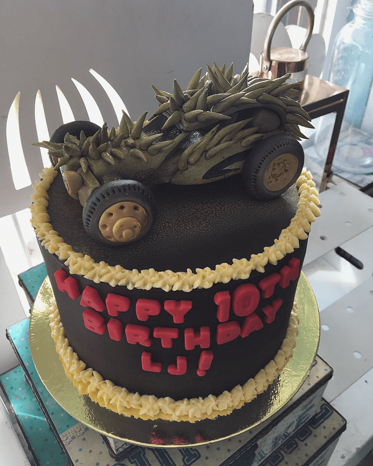 Angelic Mad Max Cake