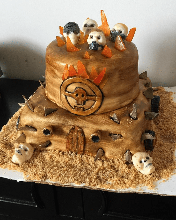 Appealing Mad Max Cake