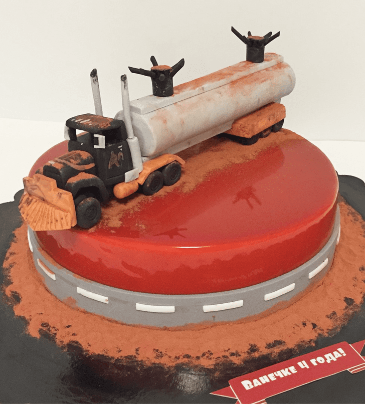 Bewitching Mad Max Cake