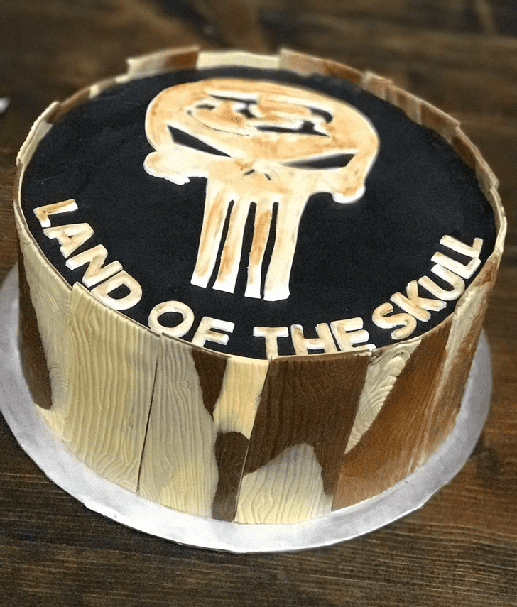 Captivating Mad Max Cake