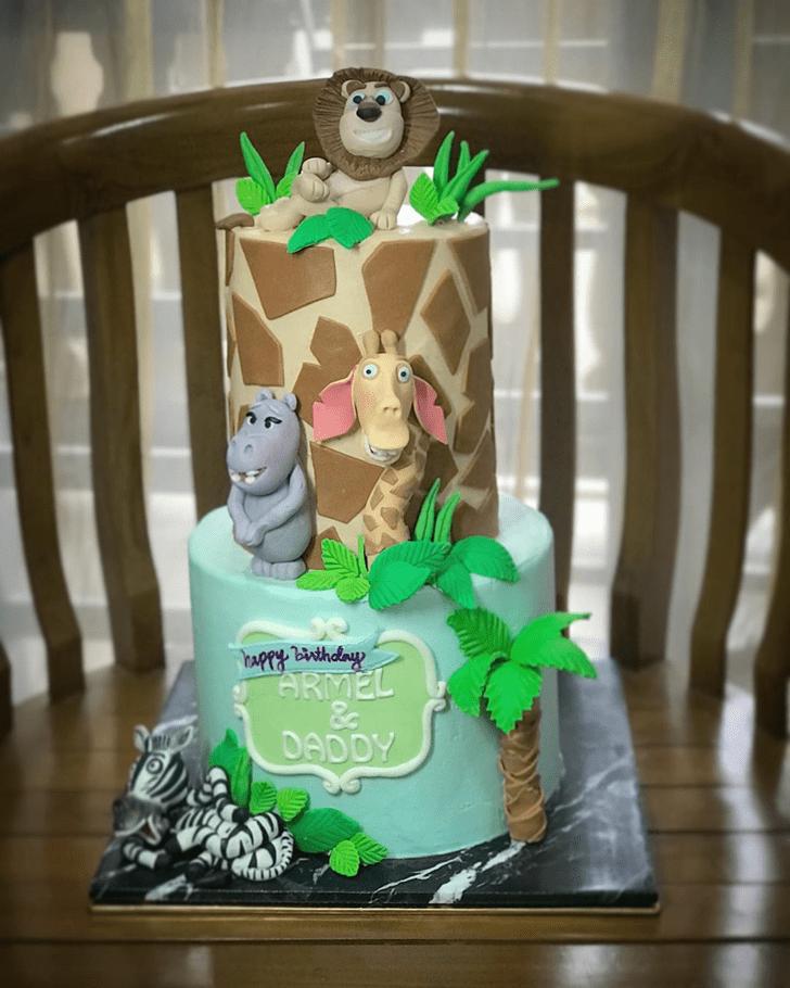 Alluring Madagascar Cake