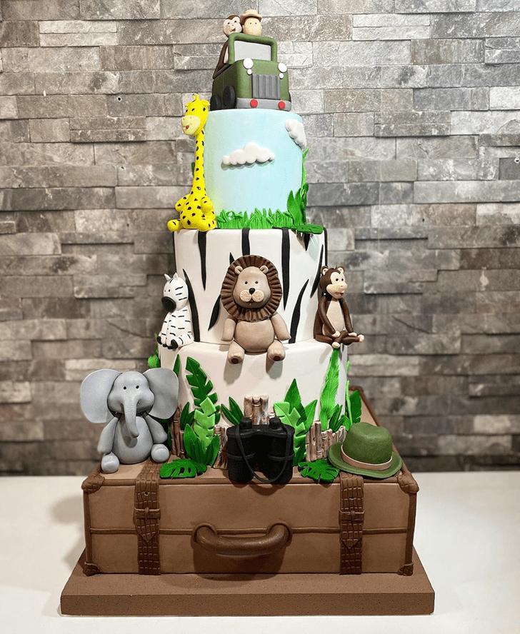 Angelic Madagascar Cake