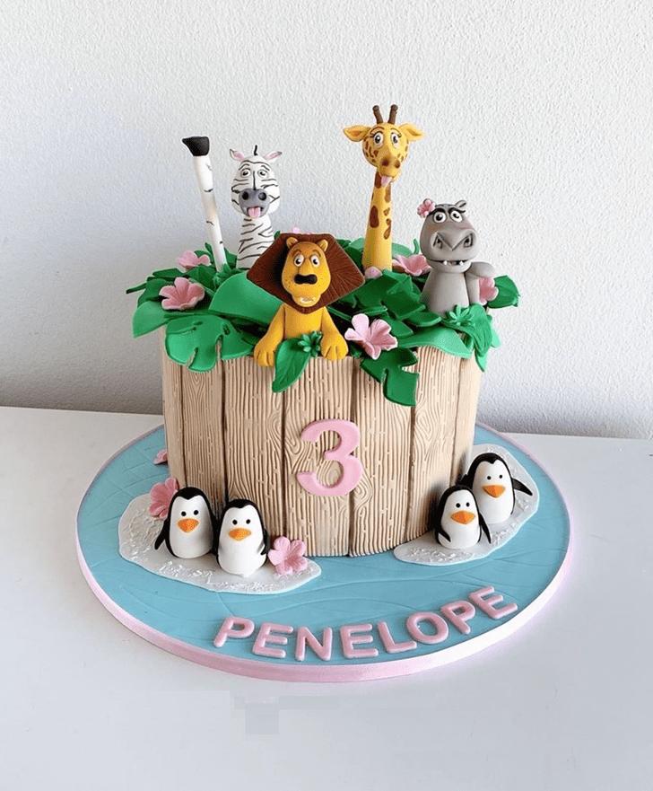 Classy Madagascar Cake