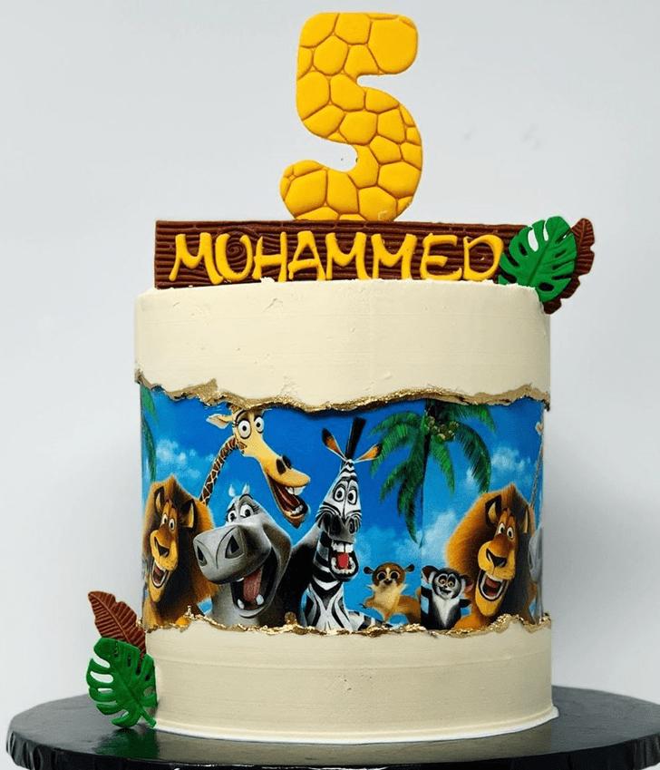 Delightful Madagascar Cake