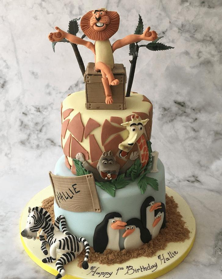 Elegant Madagascar Cake