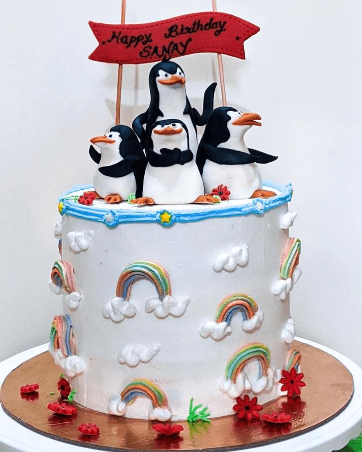 Enthralling Madagascar Cake