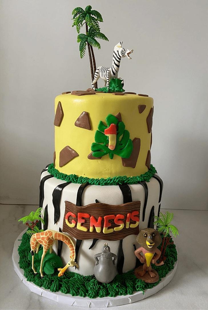 Fair Madagascar Cake