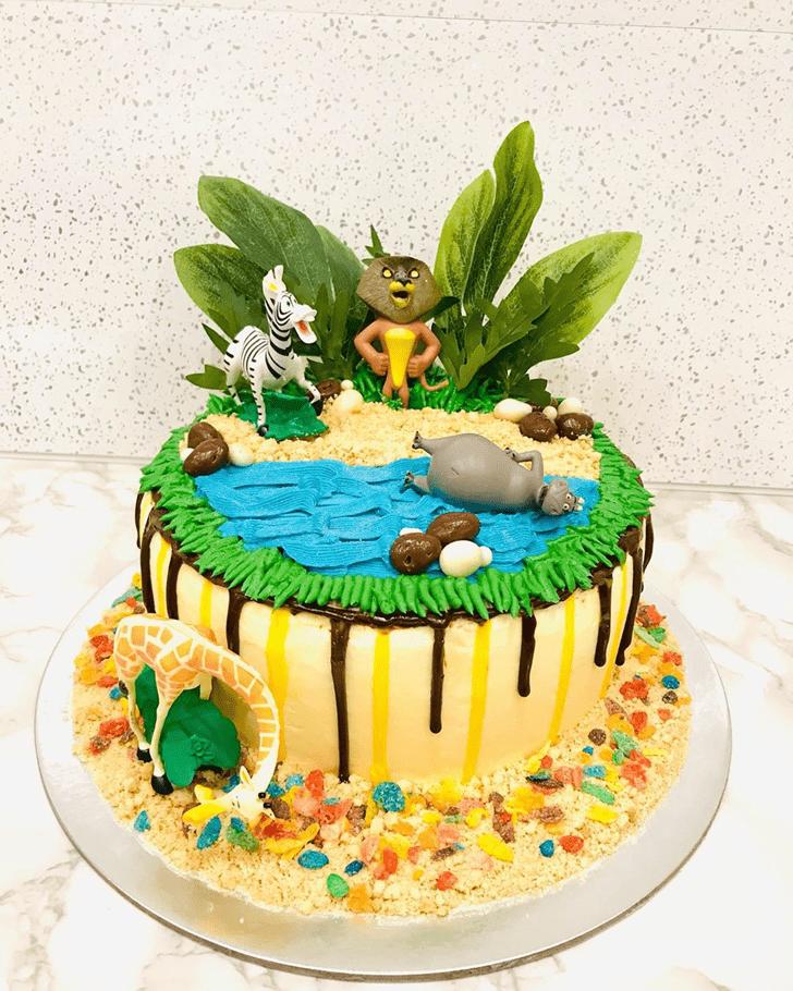 Gorgeous Madagascar Cake