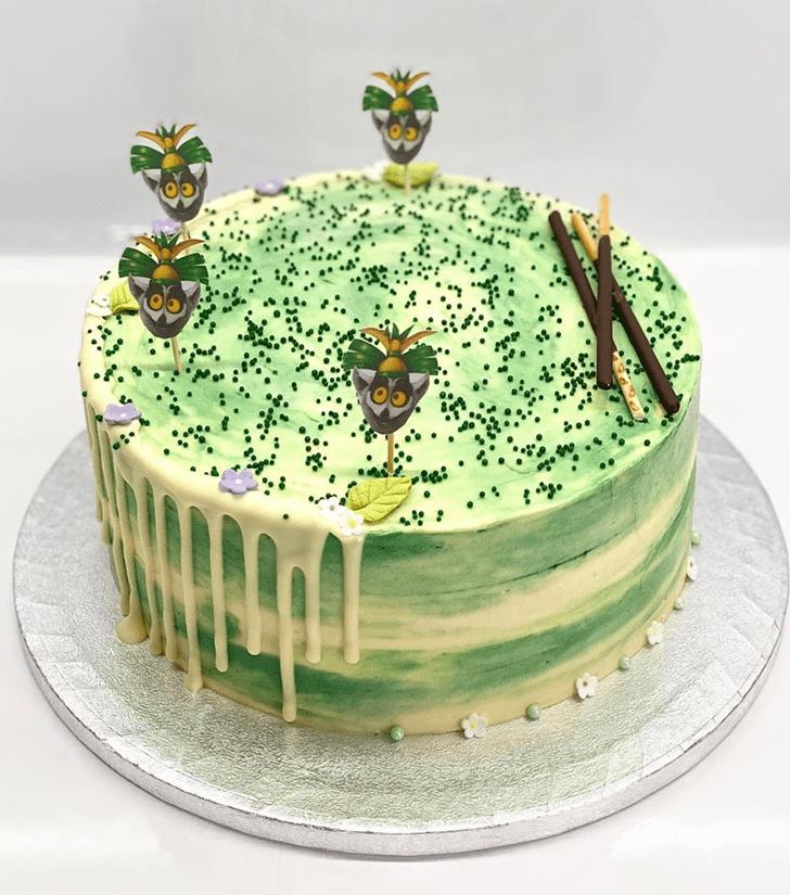 Handsome Madagascar Cake