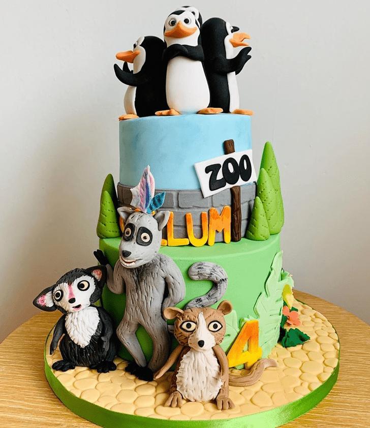 Marvelous Madagascar Cake