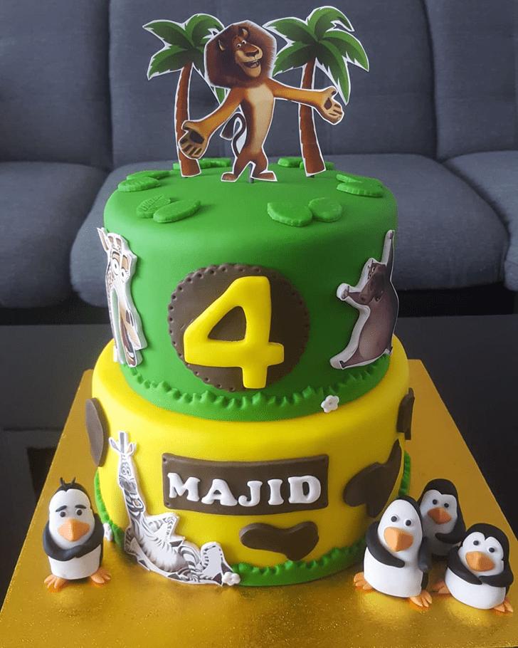 Resplendent Madagascar Cake