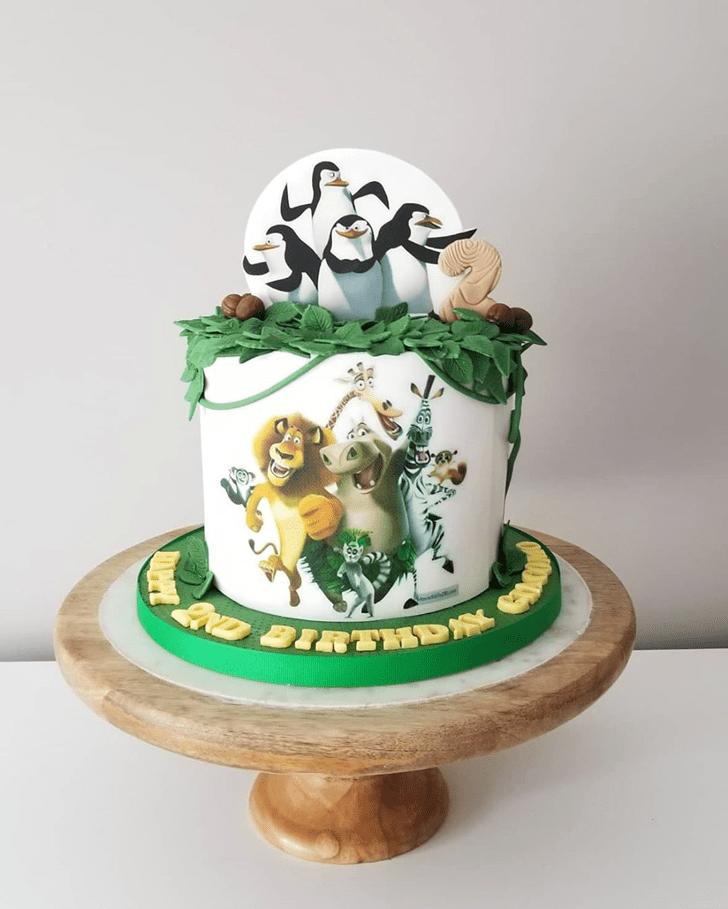 Slightly Madagascar Cake