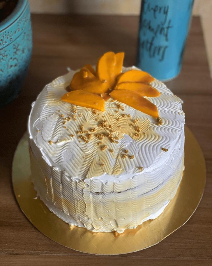 Beauteous Mango Cake