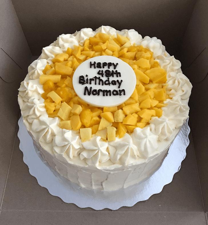 Captivating Mango Cake