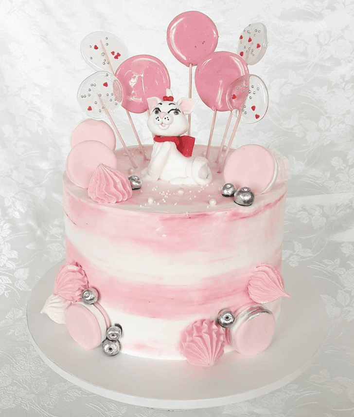 Admirable Disneys Marie Cake Design