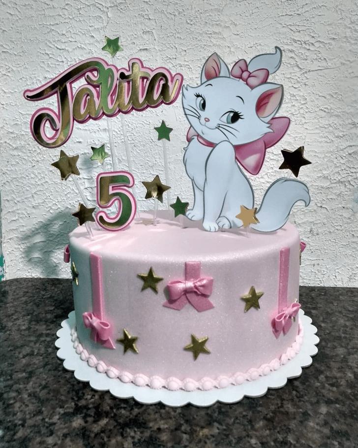 Appealing Disneys Marie Cake