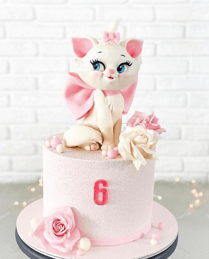 Charming Disneys Marie Cake