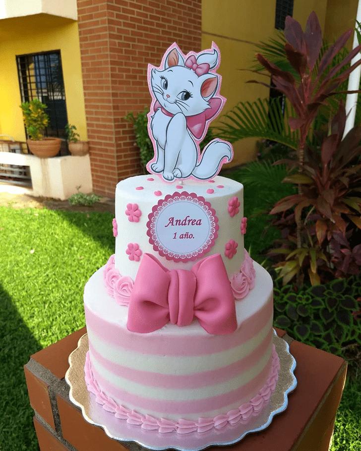 Cute Disneys Marie Cake
