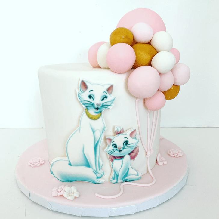 Delicate Disneys Marie Cake