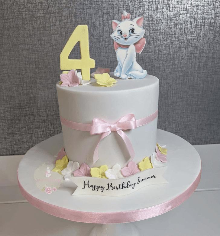 Delightful Disneys Marie Cake