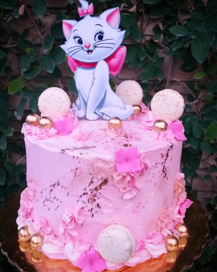 Divine Disneys Marie Cake