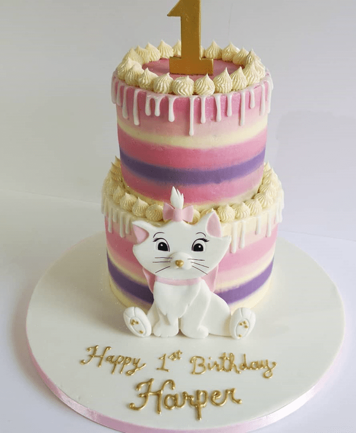 Enthralling Disneys Marie Cake