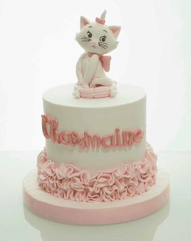 Exquisite Disneys Marie Cake
