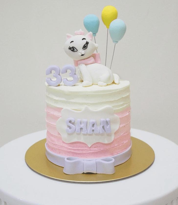 Fair Disneys Marie Cake