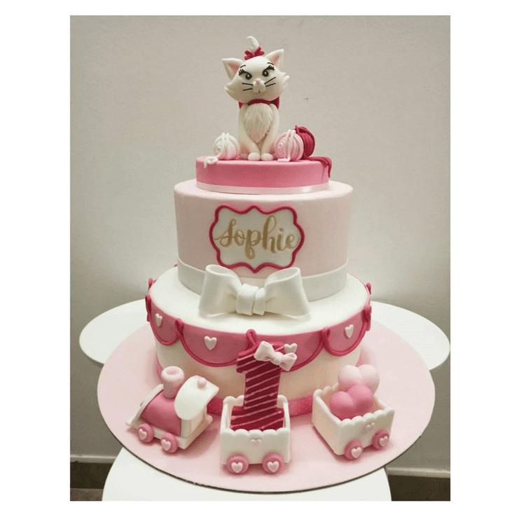Good Looking Disneys Marie Cake