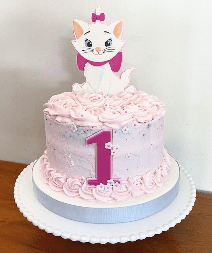 Graceful Disneys Marie Cake