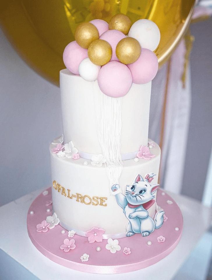 Handsome Disneys Marie Cake
