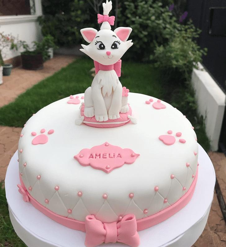 Marvelous Disneys Marie Cake