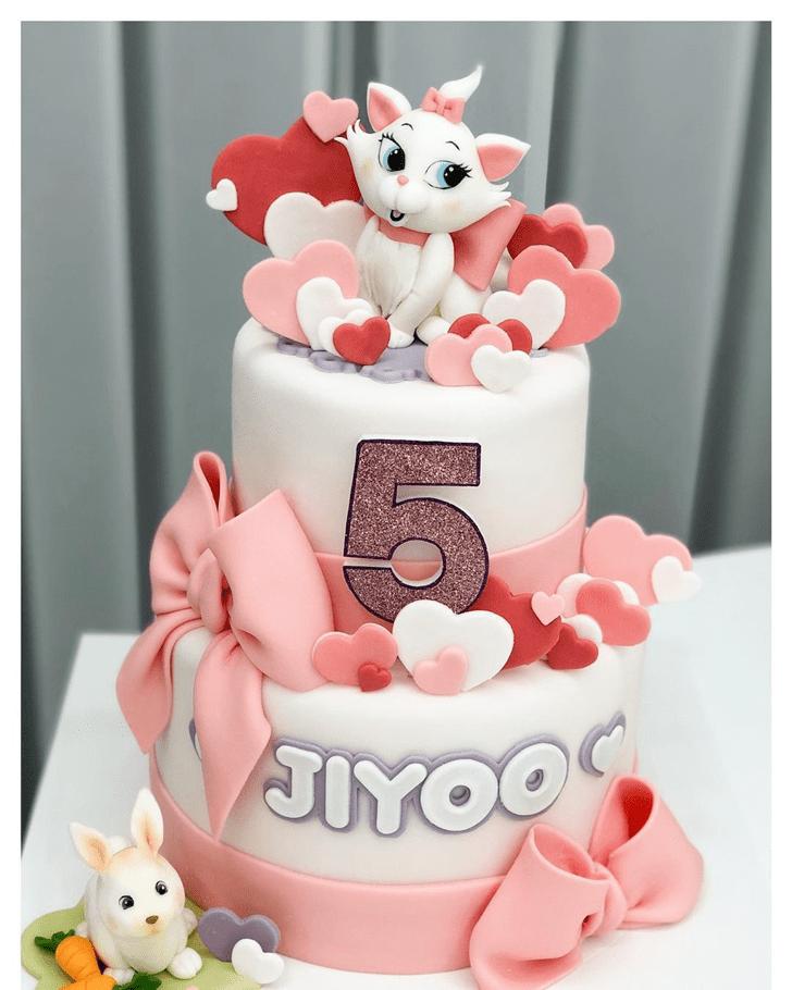 Mesmeric Disneys Marie Cake